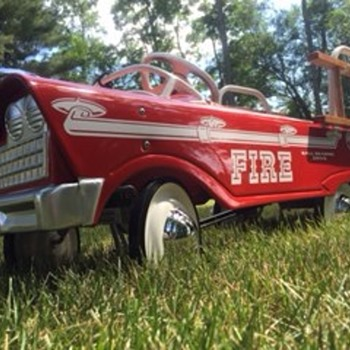 My 63-64 restored Murray FireTruck