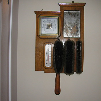 Butler Brushes with Weather Forcasting Equipment - Tools and Hardware