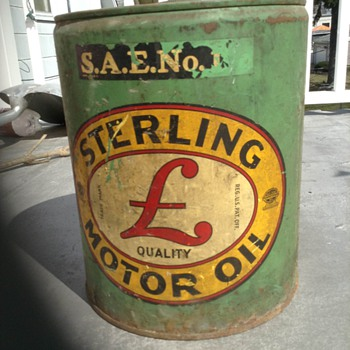 5 Gallon Sterling Motor Oil