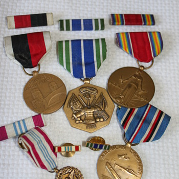 Medals... Medals... Medals...  - Military and Wartime