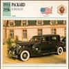 Vintage Car Card - Packard Super Eight
