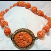 Antique Chinese Coral Necklace