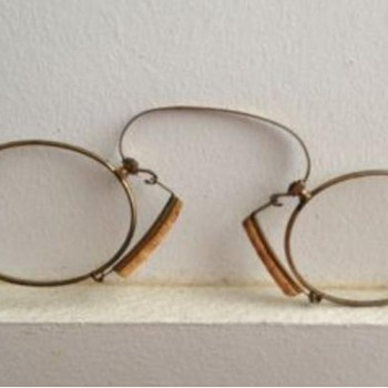 Very old eye glasses