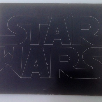 STAR WARS 1977 CAMPAIGN BOOK  - Movies