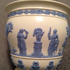 Wedgwood Queensware Embossed Vase