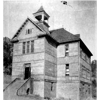 Keystone South Dakota 1899 Schoolhouse