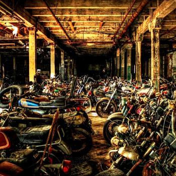 Motorcycle Graveyard - Motorcycles