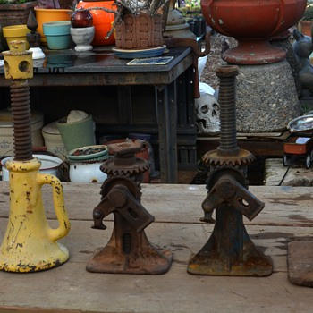 a bunch of jacks at the nursery - Tools and Hardware