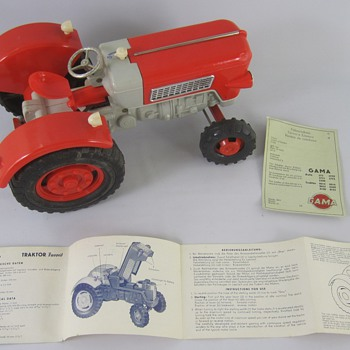 Gama Tractor Model #8015