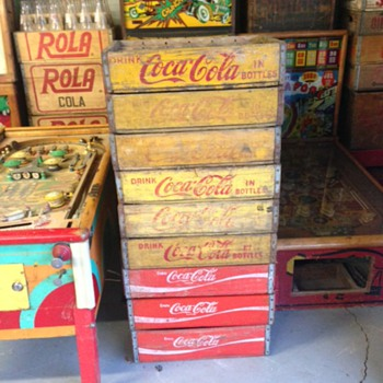 Coca Cola Crates - Advertising