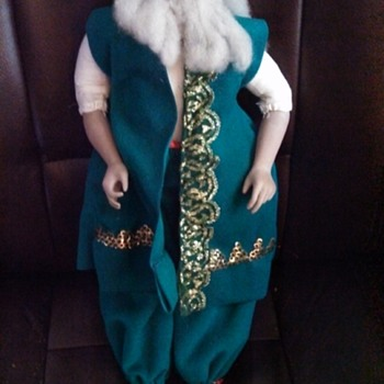 Geppetto Porcelain Doll