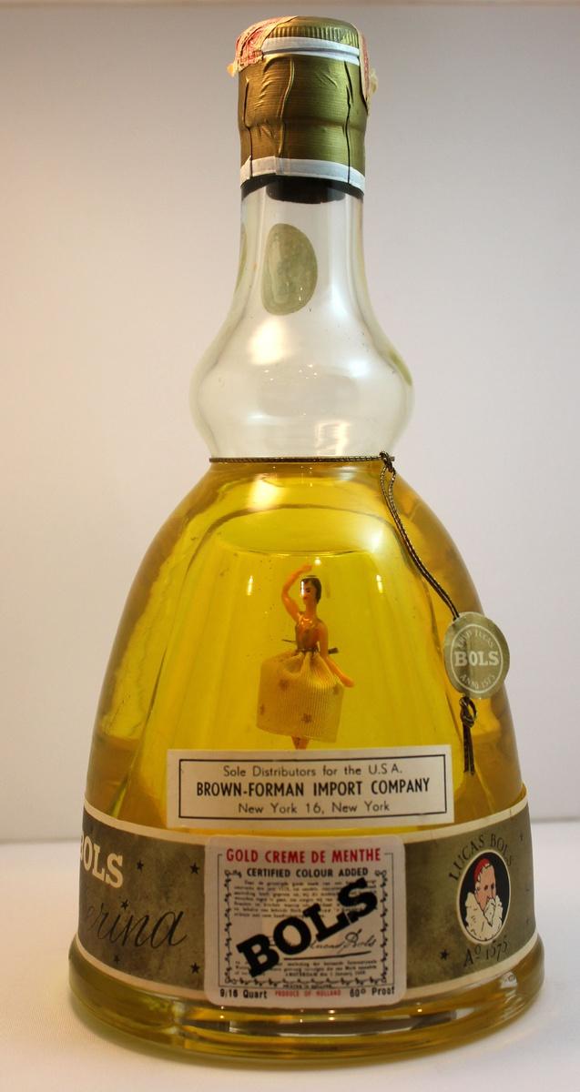 Holland bols ballerina musical liqueur bottle collectors weekly