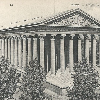 PARIS. - L'ÉGLISE DE LA MADELEINE - Postcards