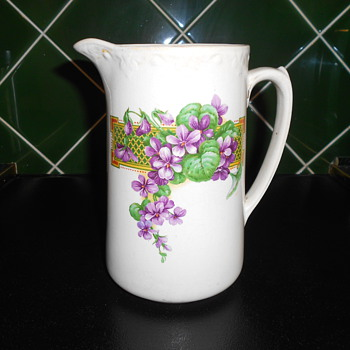 English Tableware. Jug - China and Dinnerware