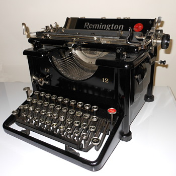 Remington No. 12 Typewriter - Office