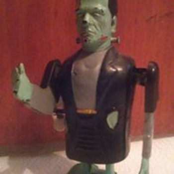 1960's Marx Frankenstein Windup Toy !  - Toys