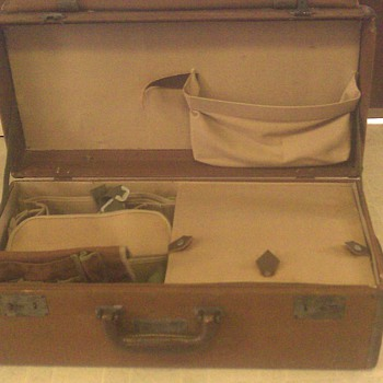 Celestial Navigation Case, (WWII vintage)