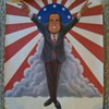 Richard Nixon Satire Poster Mad Magazine artists