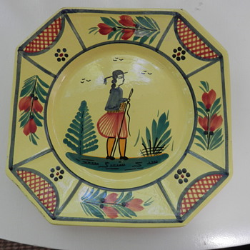 Collector's Plate? - Art Pottery