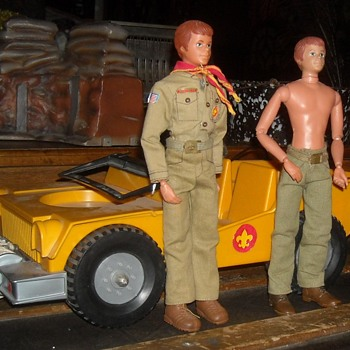 Kenner Steve Scout with Jeep 1973-1974 - Toys