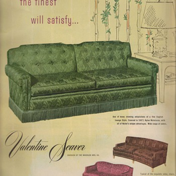 1950 Seaver Furniture Advertisement