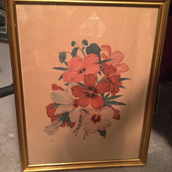 Menaboni Signed Painting - Arts and Crafts