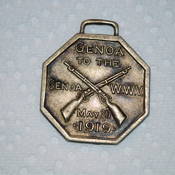 1919 Medallion - Military and Wartime