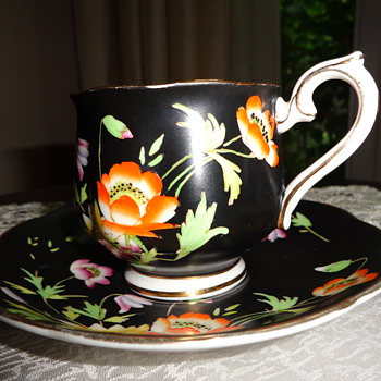 Gloria Royal Albert Crown China Made in Engl Cup and Saucer