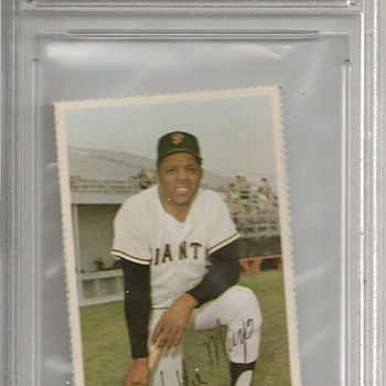 FGS 1971 DELL MLB STAMPS Willie Mays GEM MINT 10 - Baseball