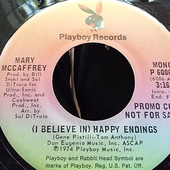 Playboy Records..Promotional Copy Only... - Records