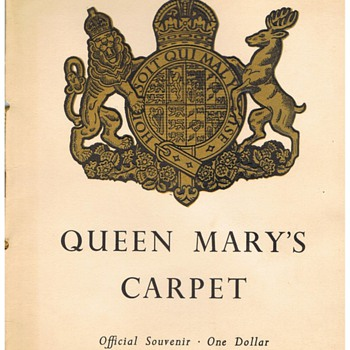 Queen Mary Carpet Invitation - Cards