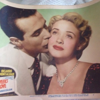 Original 1950's Movie Poster found in Havana, Cuba!