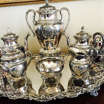 My Reed & Barton Silver Service