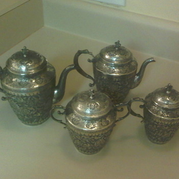 Persian Tea Set??? - Sterling Silver