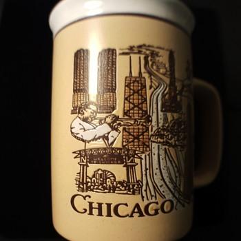 Gorgeous Vintage Chicago Coffee Mug