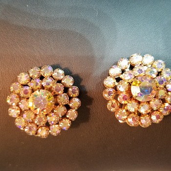 Recent clip on earrings finds! - Costume Jewelry