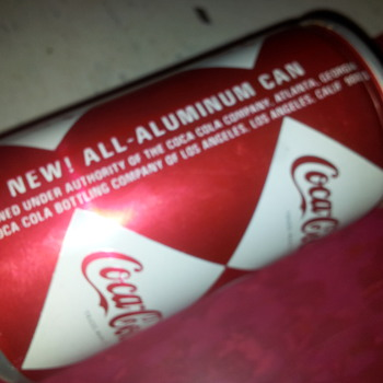 1960's Multi-Diamond, all aluminum Coca-Cola Can (3rd Version) - Coca-Cola