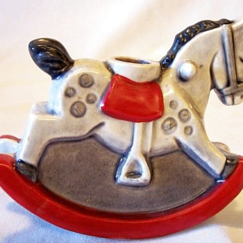 Goebel Rocking Horse Candle Holder, 1975