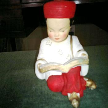 Chinese   ceramic figure  - Asian