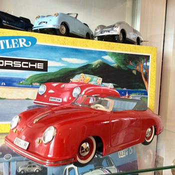 Distler Electromatic 7500  Porsche 356a Speedster  - Model Cars