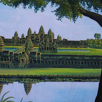Enormous Painting of Angkor Wat - Visual Art