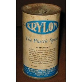 Vintage Spray Paint Cans - Advertising