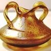 Loetz Candia Papillon Winged Vase.
