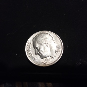 1980 SOMETHING DIME ERROR