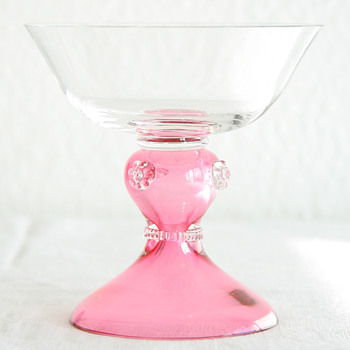 Römer Champagne Glass Saucer, maybe Theresienthal? - Glassware