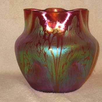 Loetz PinkMedici - Art Glass