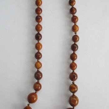 Old necklace, no bakelite