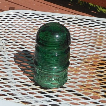 Brookfield #16 Double Groove Insulator Green - Tools and Hardware
