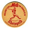 Mets' Rheingold Coaster 1962