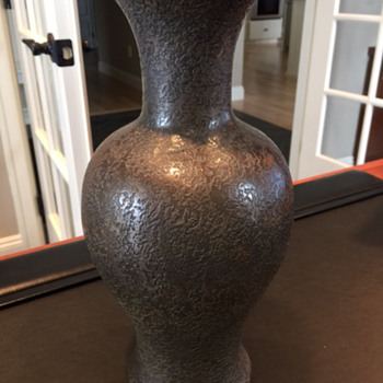 Vase from very unique estate auction